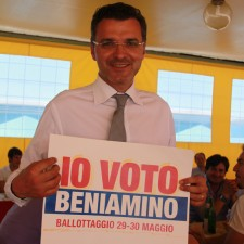 Beniamino in Io voto Beniamino