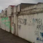 muro cimitero